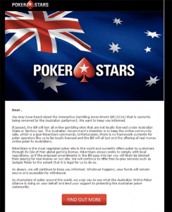 PokerStars exit near
