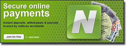 Neteller - Secure Internet Casino Banking Transfers