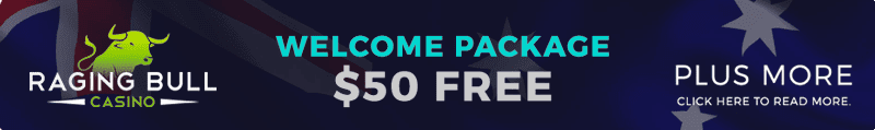 Raging Bull online casino sign up bonus offer