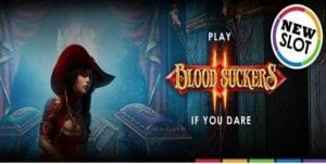 50 free spins Blood Suckers Promo