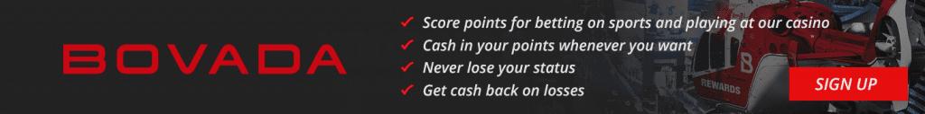 Bovada online casino banner
