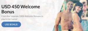 Bumbet Casino welcome bonus