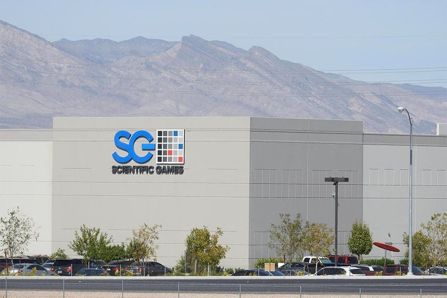 Scientific Games Corp in Las Vegas