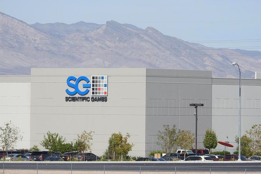 Scientific Games Corp in Las Vegas