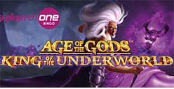 Age Of The Gods - King of the underworld released by Playtech