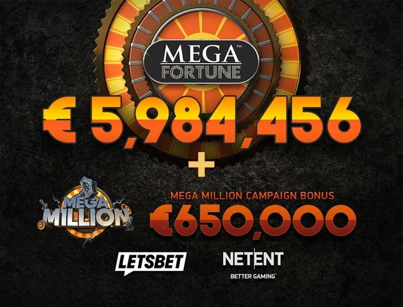 LetsBet.com has huge winner on Mega Fortune slot
