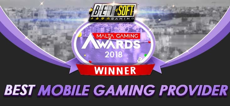 Betsoft Gaming - wins mobile gaming awards in Malta