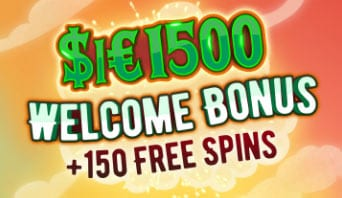 Up to $1500 bonus cash + 150 free spins