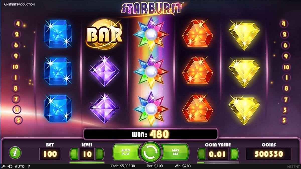 StarBust Online Slot by NETENT